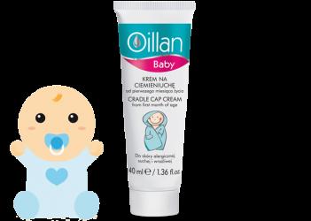 OILLAN BABY CRADLE CAP CREAM
