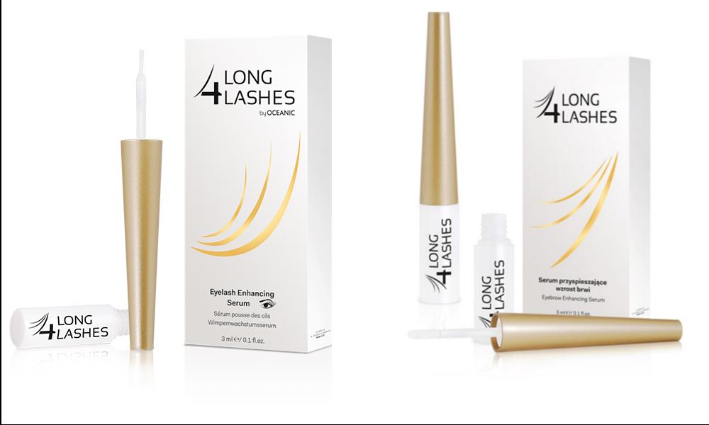 Bộ sản phẩm Long4Lashes giúp lông mi, lông mày dài, dày, khỏe