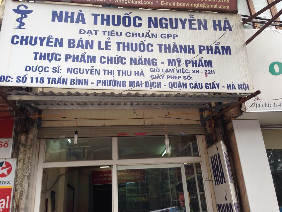 Nhà thuốc Nguyễn Hà