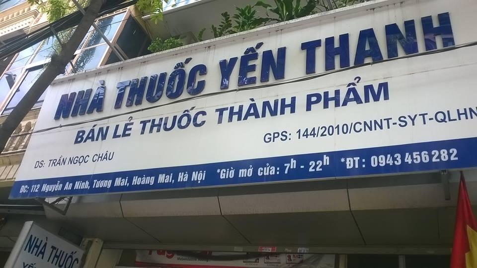 Nhà thuốc Yến Thanh