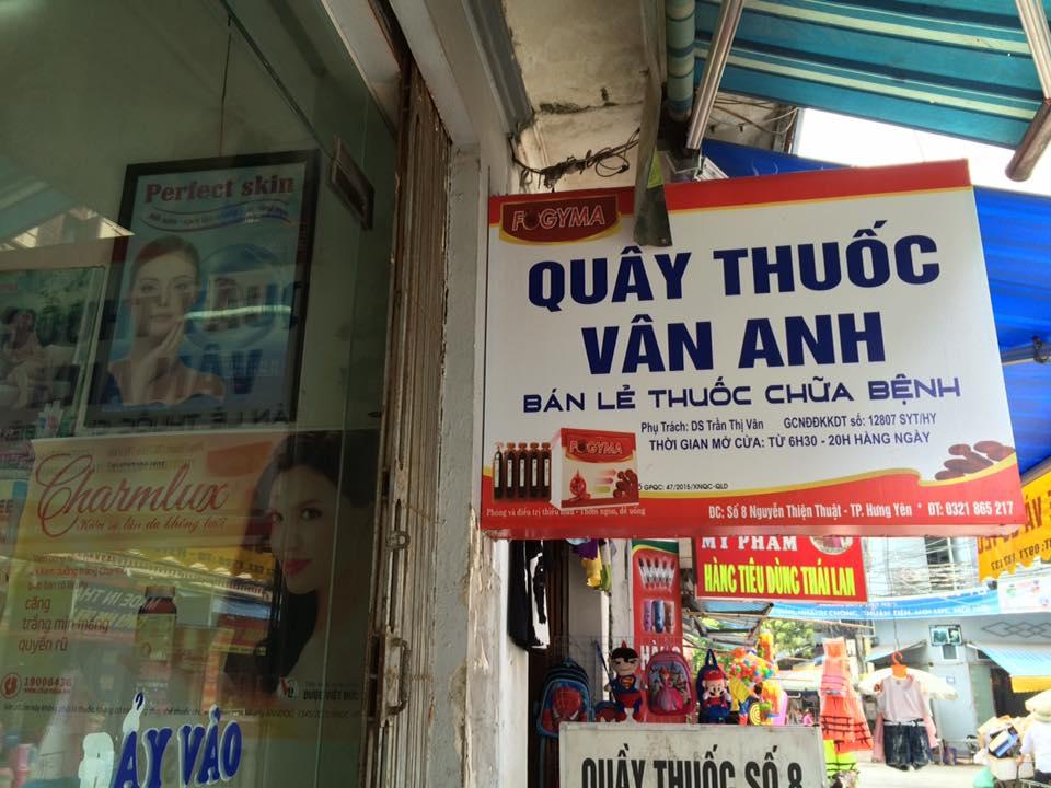 Quầy thuốc Vân Anh