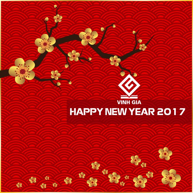 Thư chúc mừng năm mới 2017