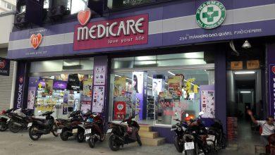 Các sản phẩm của bộ DMP Oceanic được bày bán ở gần 50 cửa hàng Medicare trên toàn quốc